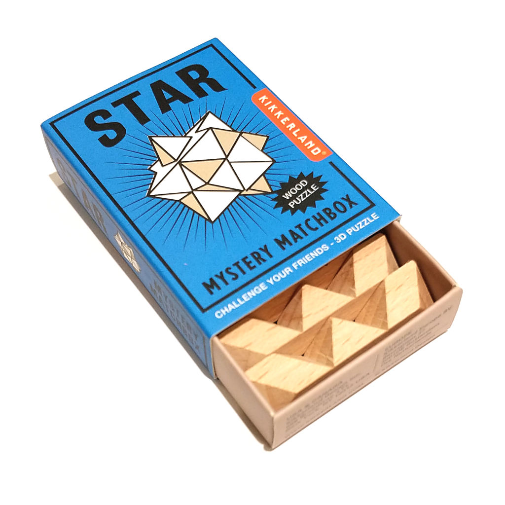 Mystery Matchbox Puzzle: Wooden Star