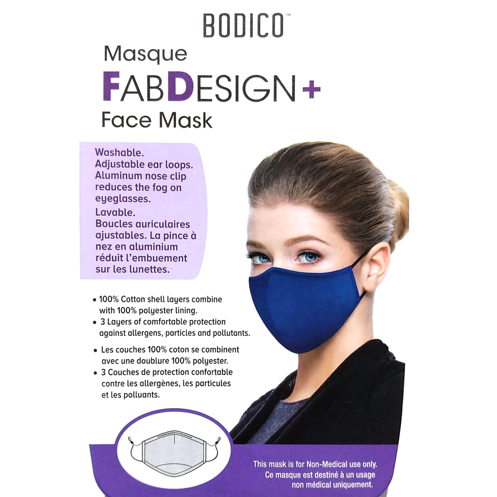 FabDesign Women's Face Mask (Various Colours)