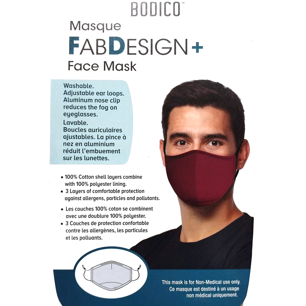FabDesign Men's Face Mask (Various Colours)