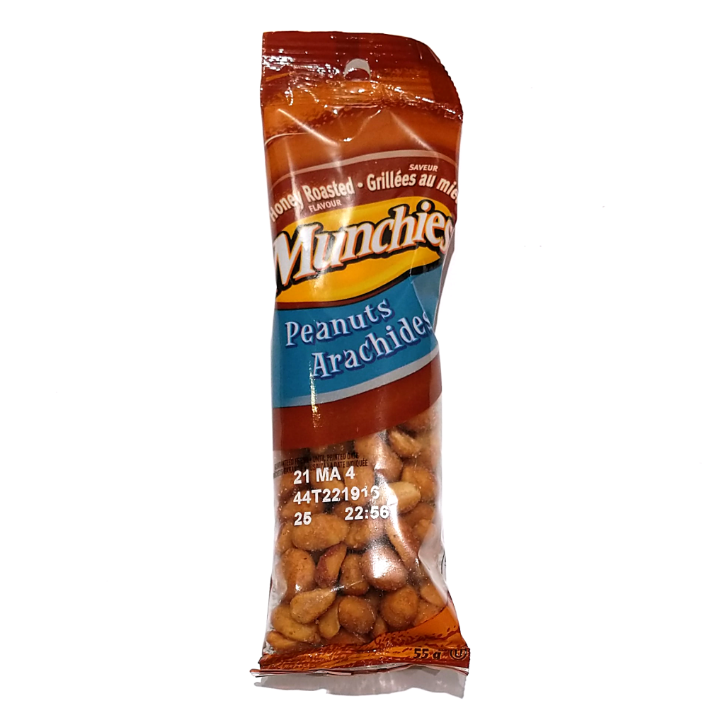 Munchies Honey Roasted Peanuts (55g)