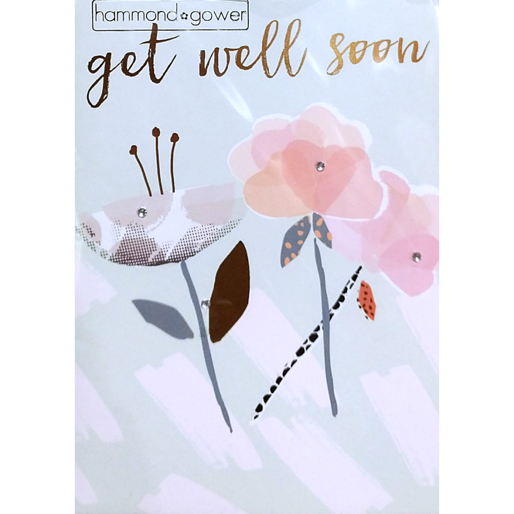 Get Well Card: Flowers