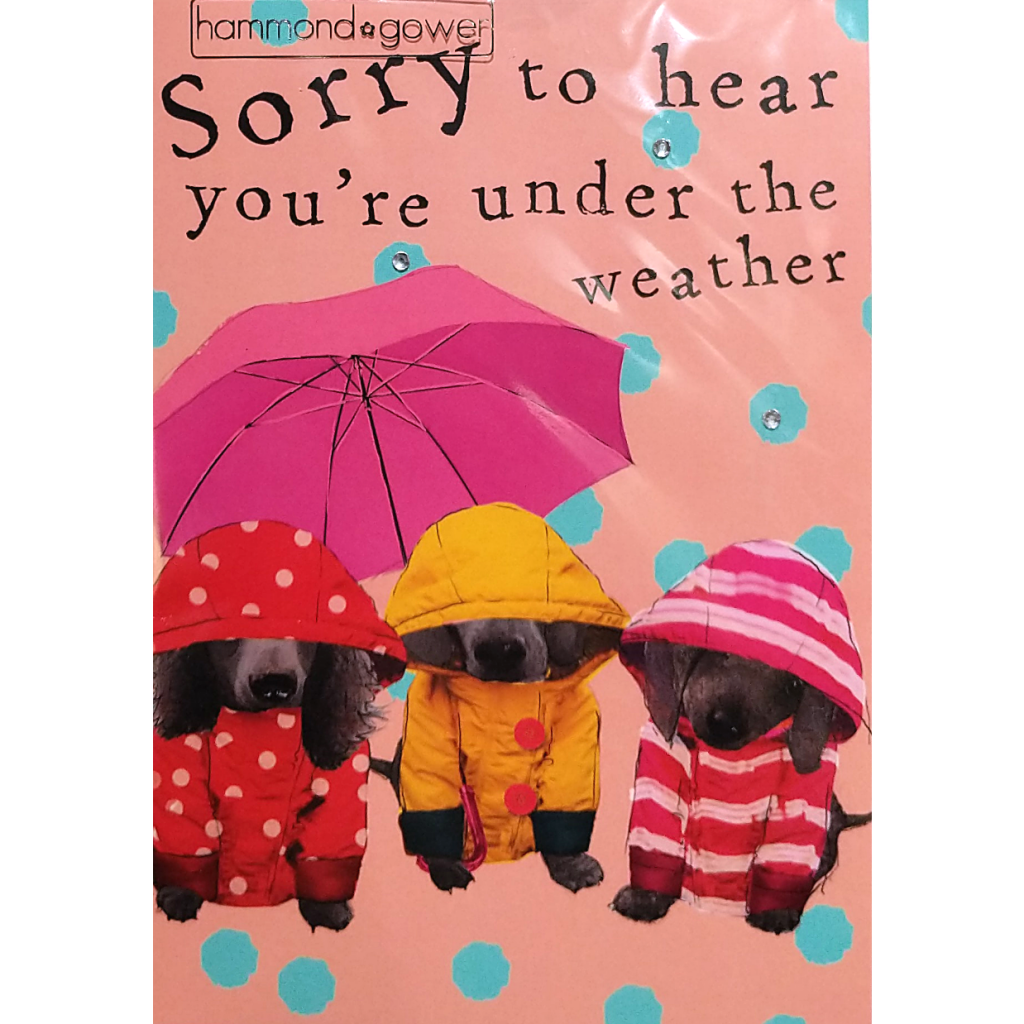 Get Well Card: Under the Weather
