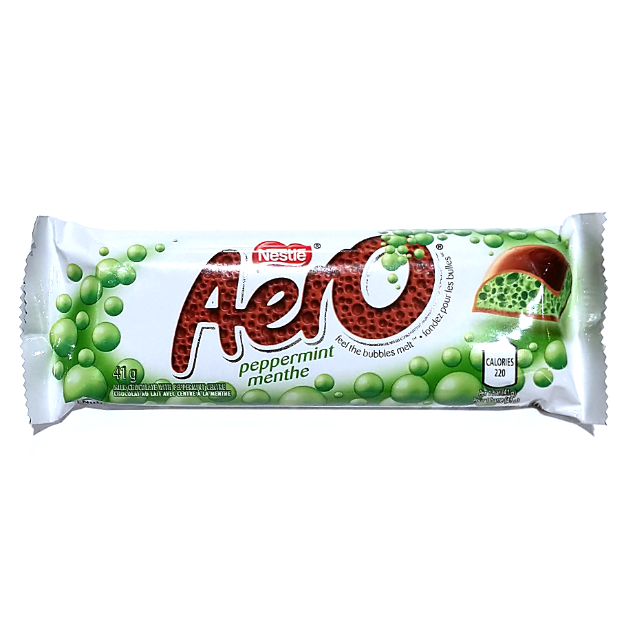 Peppermint Aero Bar