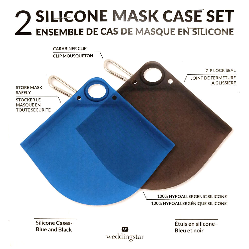 Silicone Mask Case (2-Pack)