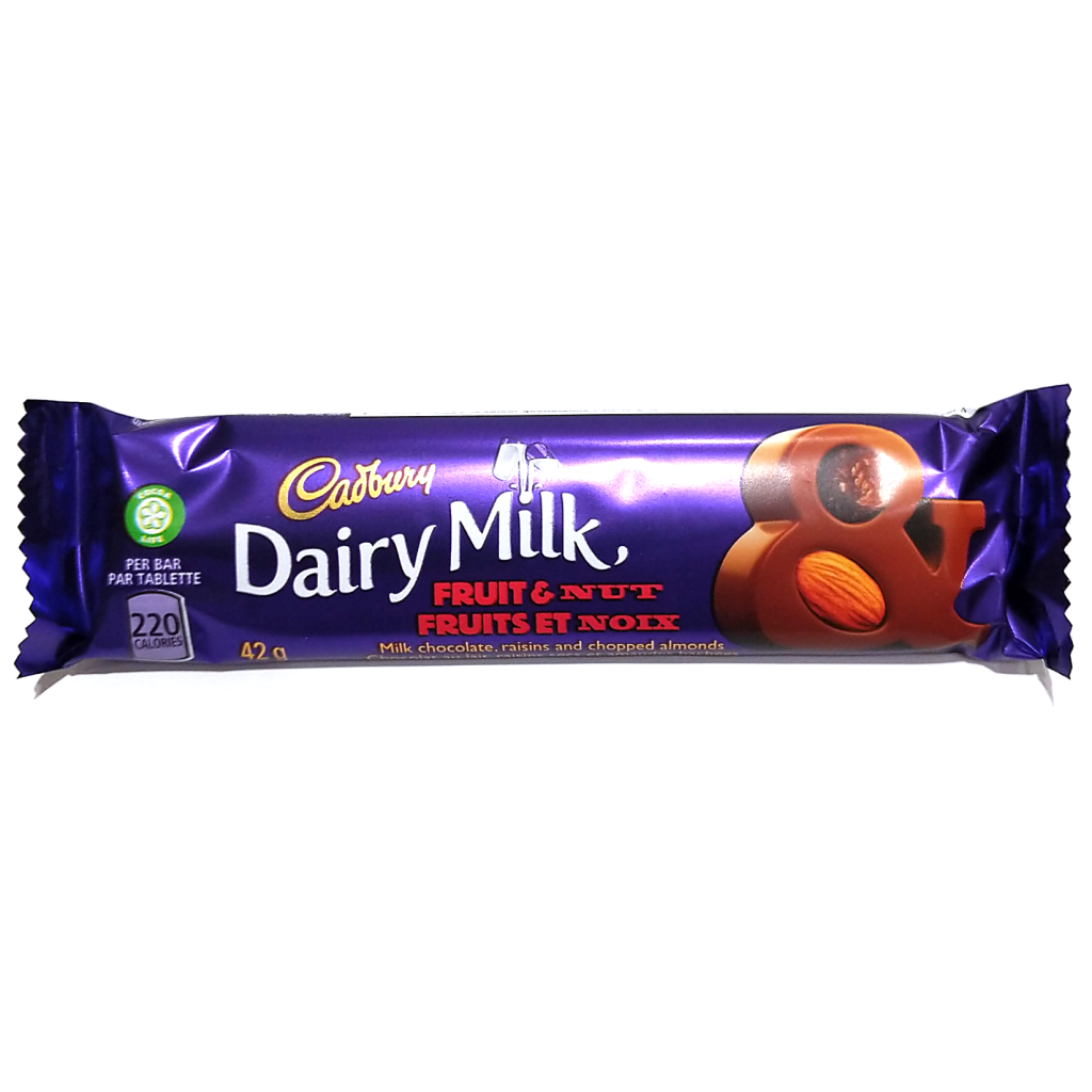 Dairy Milk Fruit& Nut Chocolate Bar (42g)