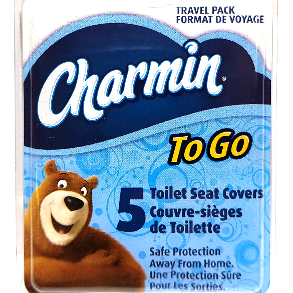 Charmin To-Go Toilet Seat Covers (5-Pack)