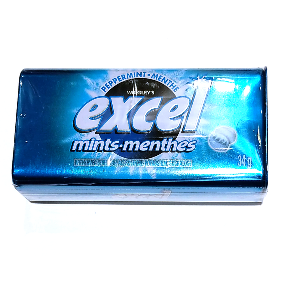 Excel Peppermints (34g)