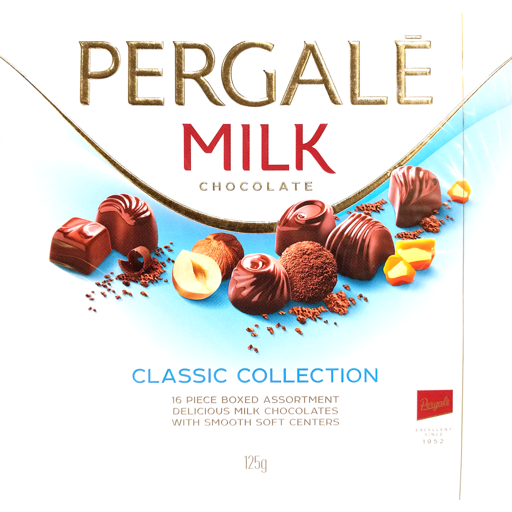 Pergalé Milk Chocolate Classic Collection (125g)