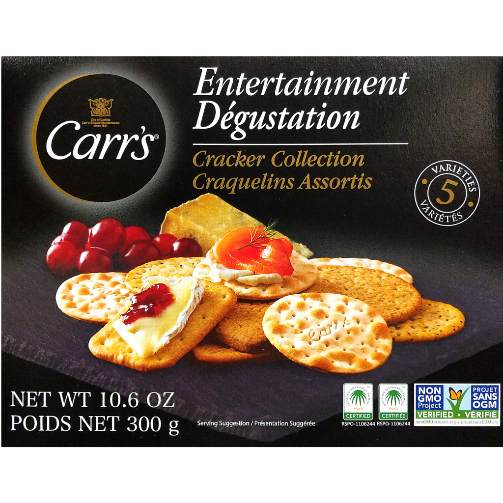 Carr's Entertainment Cracker Collection (300g)