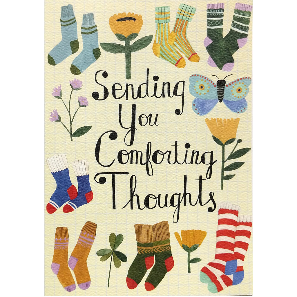 Comfort Card: Sending You Comforting Thoughts