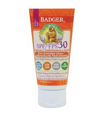 Badger Kids Sunscreen Cream SPF 30