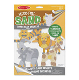 Mess-Free Sand Stickers