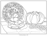 Pomegranate - Monet, The Early Years Colouring Book
