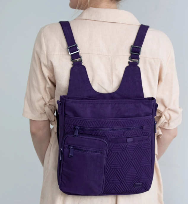 Lug- Monorail Convertible Crossbody Backpack