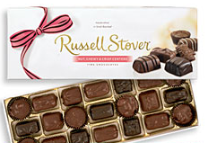 Russell Stover Nut, Chewy, and Crisp (340g)