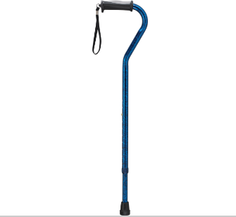 Gel Handle Offset Cane from Drive Medical