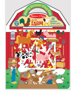 MELISSA & DOUG - Puffy Sticker Farm