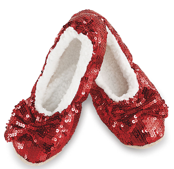 Snoozies! Slippers: Ballerina Bling (Red)
