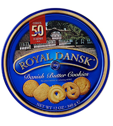Royal Dansk: Danish Butter Cookies