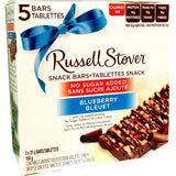 Russell Stover NSA Blueberry Snack Bars (155g)