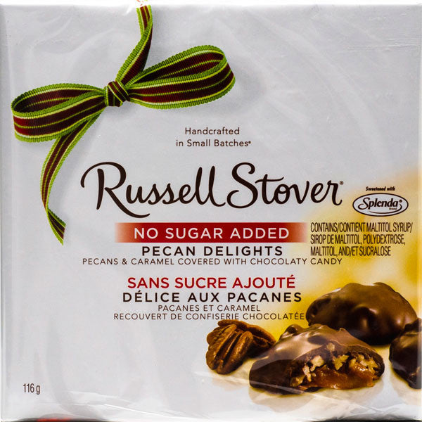 Russell Stover NSA Pecan Delights (116g)