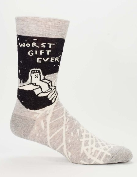 Blue Q - Worst Gift Ever Men's Socks