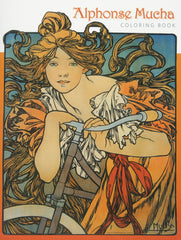 Alphonse Mucha Colouring Book