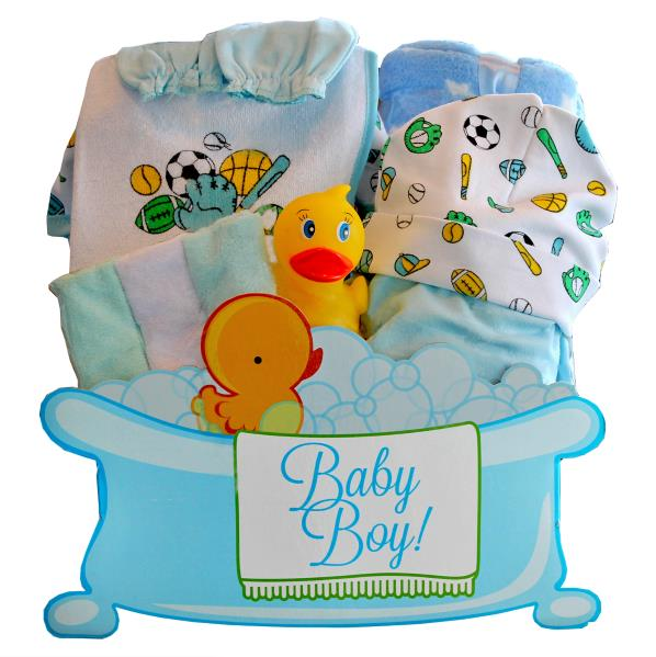 Gift Basket - Baby Boy