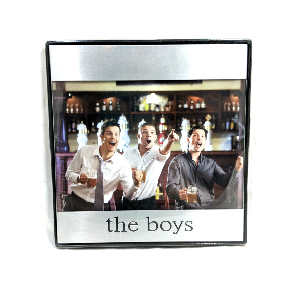 The Boys Picture Frame Sunnybrook Gift Shop