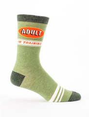 Blue Q - Adult-in-Training Socks