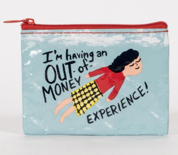Out of Money Coin Purse