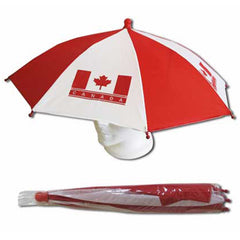 """Canada"" Umbrella Hat!"