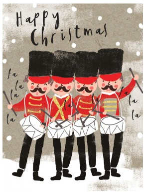 Christmas Soldier Cards