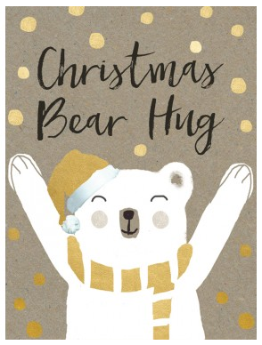 Christmas Bear Hug Cards