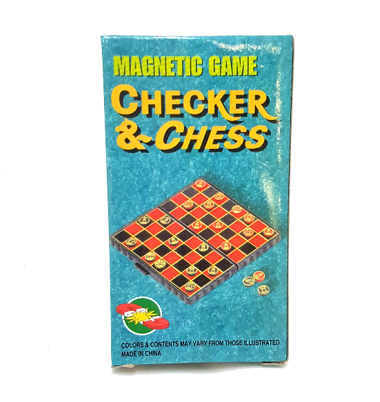 Checkers & Chess Magnetic Game
