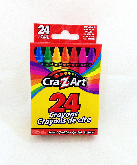 Crayons (24-Pack)