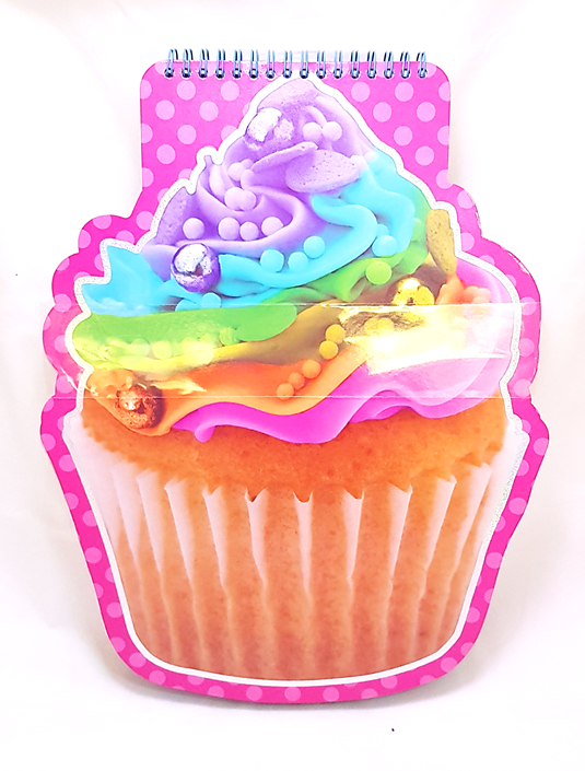 Jumbo Cupcake Sketchbook
