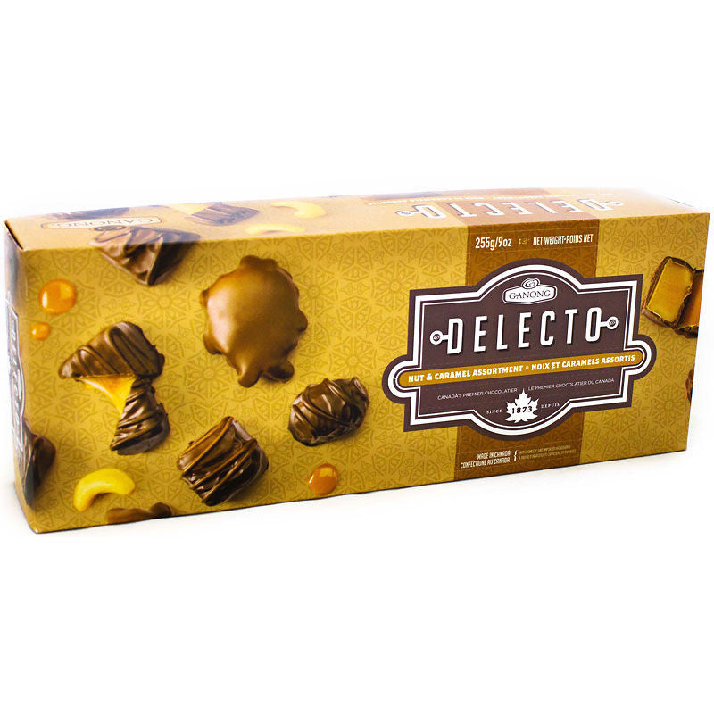 Ganong Delecto Nut & Caramel Assortment