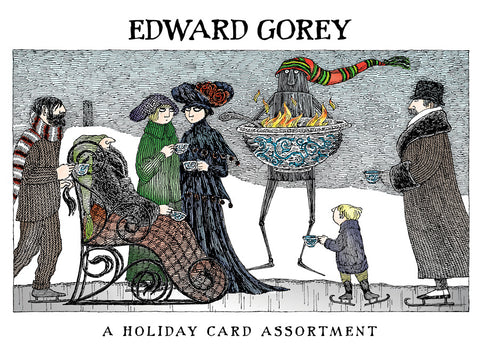 Edward Gorey Holiday Cards
