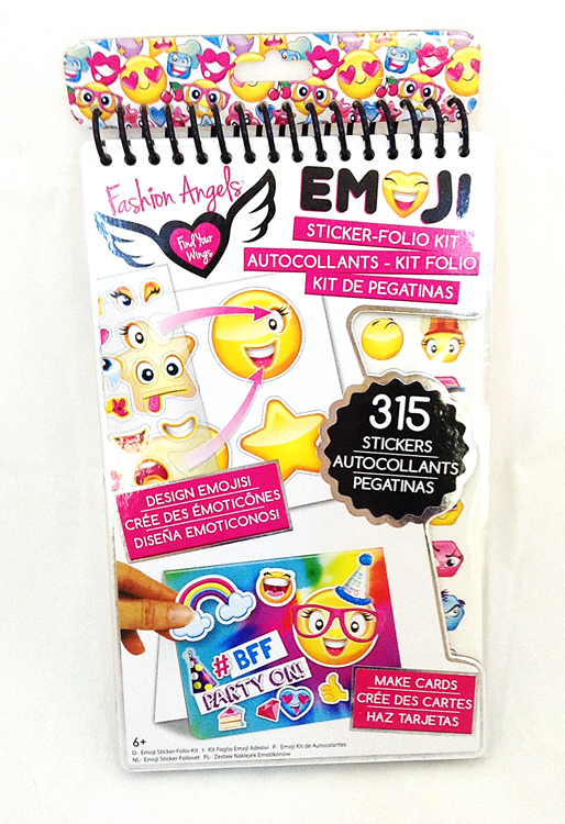 Emoji Sticker-Folio Kit