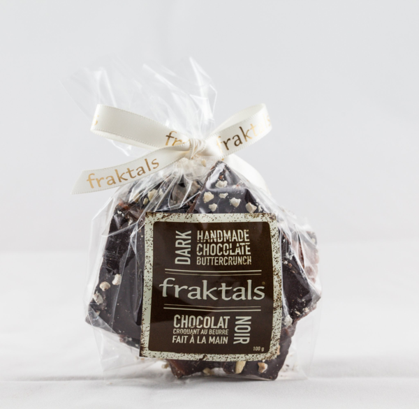 Fraktal One Chocolate Corporation Dark Buttercrunch candy nuts