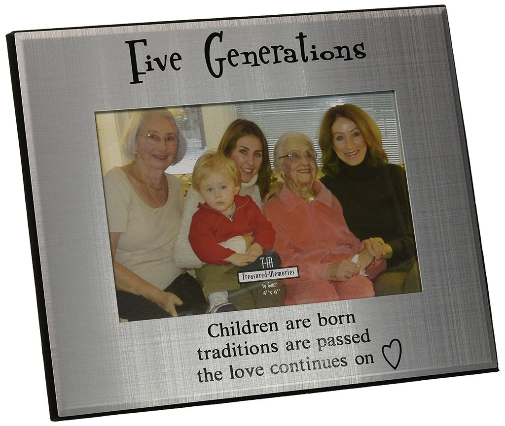 Five Generations Picture Frame