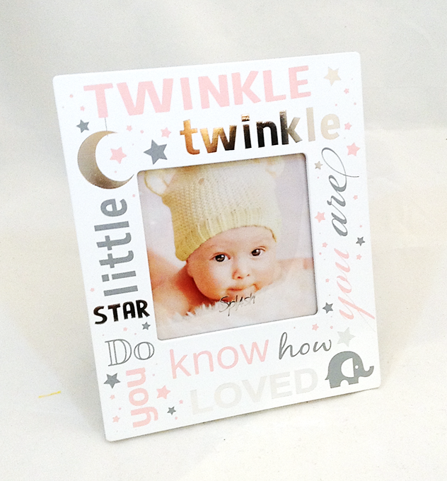Twinkle Twinkle Baby Picture Frame