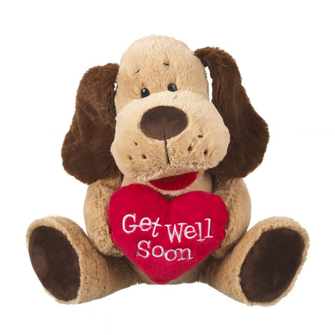 Get Well Soon Plush Dog