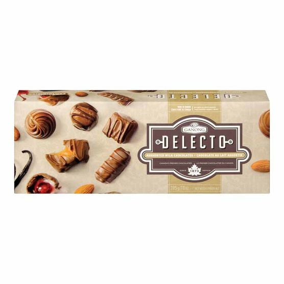 Ganong Delecto Assorted Milk Chocolates (265g)
