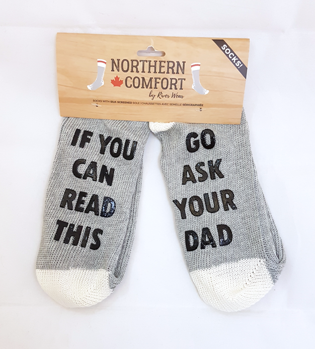 Ask Your Dad Socks