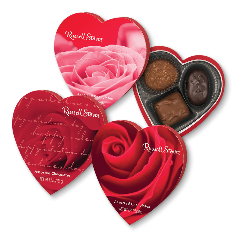 Russell Stover Assorted Pralines Heart