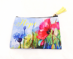 """Hope"" Zipper Pouch"