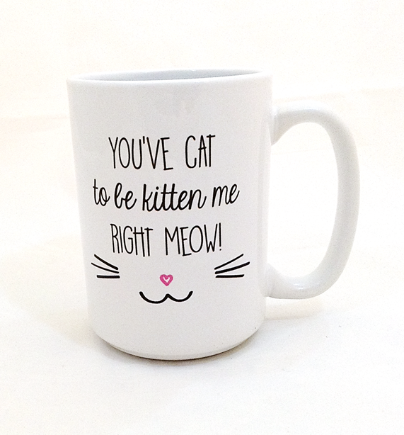 You've Gotta Be Kitten Me Mug