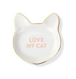 Love My Cat Decorative Tray
